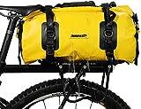 BAIGIO Borsa per Bicicletta Impermeabile Borsa Bici Portapacchi Borse Sportiva Borsone da Viaggio Multifunzionale Borsa da Palestra 20L Borsone da Uomo e da Donna