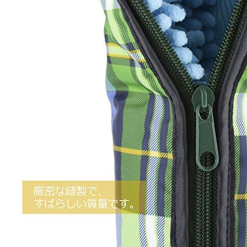 『Vanwalk®吸水傘カバー(32cm×11.5cm, タータンチェック1)』の3枚目の画像