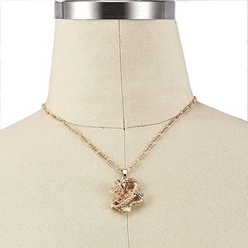 KONZFK Collar boemia Retrato Liga Ouro moeda pingente colares para as Mulheres do Vintage Rosa Moda Longa Colar jóias presentes