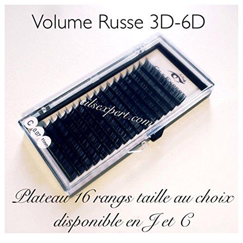 Volume russe 0,07 11 mm C plateau de 16 rangs