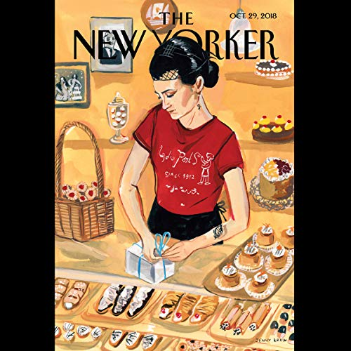 The New Yorker, October 29th 2018 (Jelani Cobb, Nicholas Lemann, Casey Cep) copertina