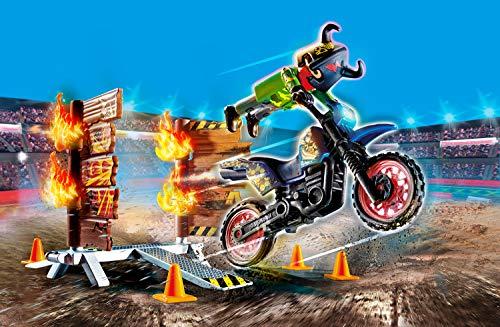 Moto acrobática Playmobil StuntShow (70553)