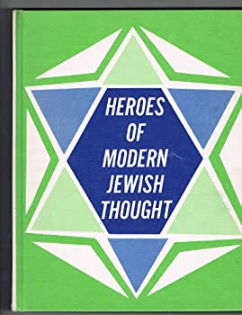 Hardcover Heroes of modern Jewish thought, Book