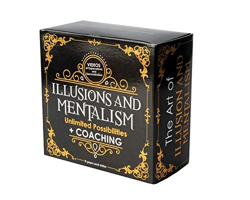 MAGIC SECRET - Adult Magic Box - Mentalism and Illusions - +35 Professional...