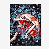 3 unids algodón patrón japonés bolsa de muñeca manga nudo bolsa portátil bolso lienzo tote regalo para niña, niño, esposa, mujeres-01
