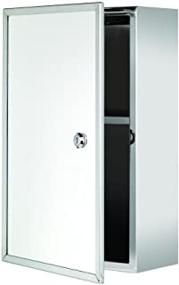 wall mounted locking medicine cabinet