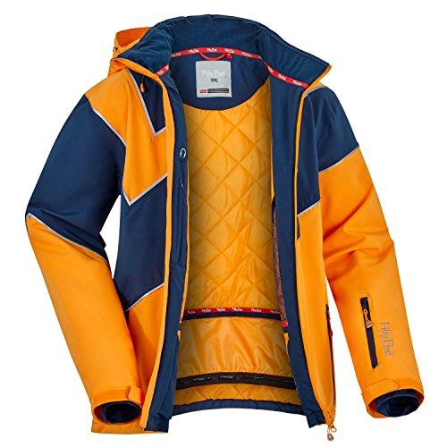 Fifty Five Extrem Skijacke für Herren Orange S Warme Snowboard Jacke Winterjacke