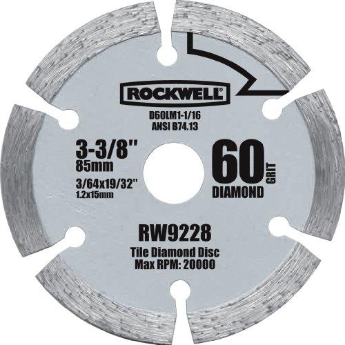 Rockwell RW9228 VersaCut 3-3/8-inch Diamond Grit Circular...