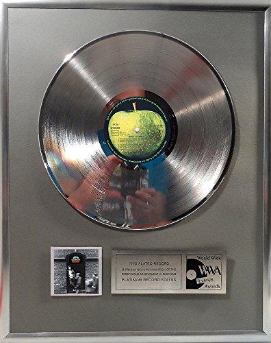 John Lennon Rock N Roll platin Schallplatte (goldene gold record)