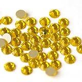 WEILAI No Hotfix 8 grandes 8 pequeños palillo plano trasero en diamantes de imitación de fijación fría brillo Strass cristales para decoración de uñas