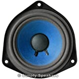 SS Audio 4.5 Inch Speaker Compatible with Bose 802, Bose 901 Style Full Range, Paper Cone, Foam Edge, 1 Ohm, F-901