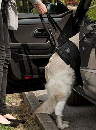 toldi Dog Sling Dog Lift Harness - Dog Leg Brace for Hind Leg - Help Em Up Harness for Dogs, Dog Sling for Large Dogs Hind Leg Support, Pet Sling for Small Dogs, Balance Harness, Dog Lift