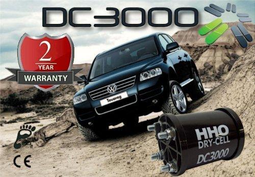 Kit HHO DC3000 Para ahorrar combustible en los automóviles