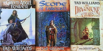 HARDCOVER TRILOGY 3 VOLUME SET!!!! Memory, Sorrow and Thorn- Tad Williams- The Dragonbone Chair, Stone of Farewell, and to...