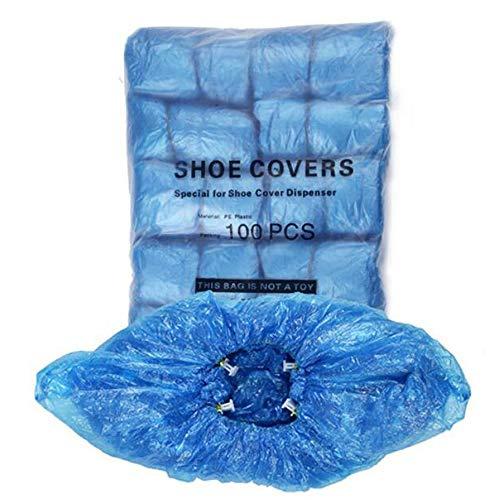 Disposable Shoe Cover Refills for Automatic Shoe Cover Dispenser Machine, T-Buckle Shoe Cover 100 Pcs