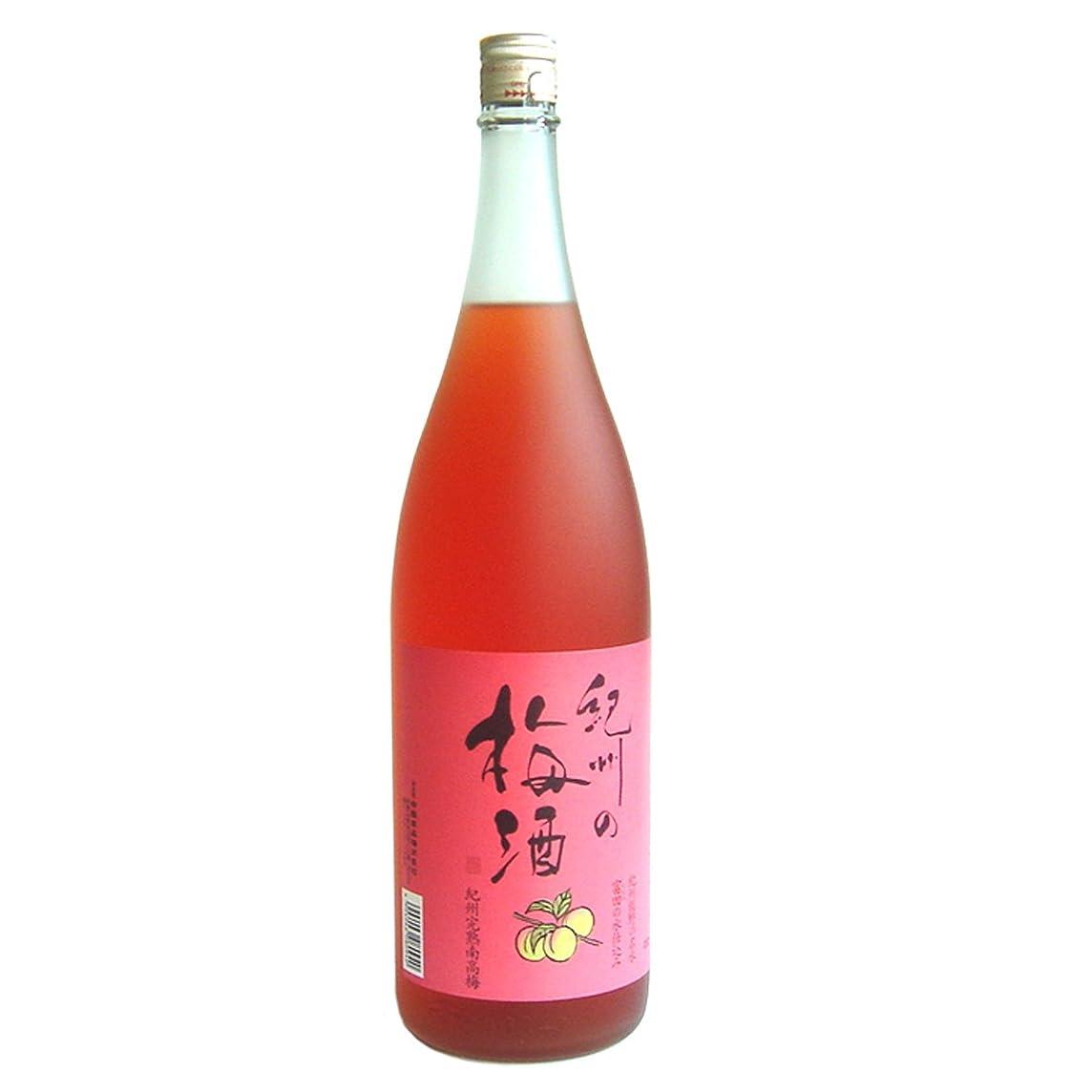 寸法ひどいタイト中田食品 紀州の梅酒 赤 [ 1800ml ]