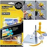 Generise PREMIUM Auto Windscreen Repair Tool with Windshield Repair Resin for Chips, Cracks