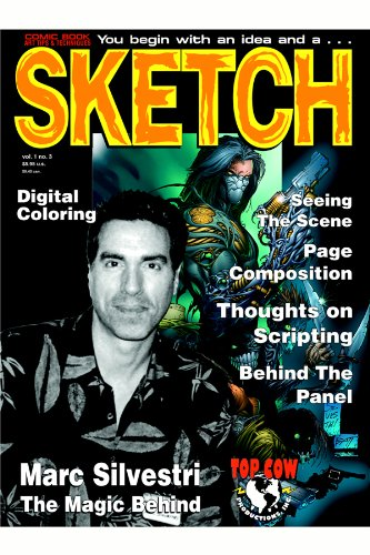 Sketch Magazine 03: Marc Silvestri (English Edition)