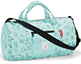 reisenthel mini maxi dufflebag S kids 38 x 21 x 21 cm 10 Liter cats and dogs mint