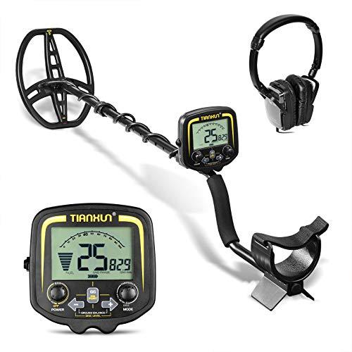 HOOMYA Professional Underground Metal Detector with LCD Display and Headphone,...