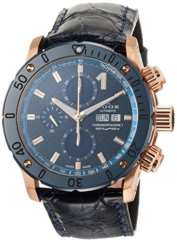 [エドックス] 腕時計 01122-37RBU3-BUIR3-L メンズ 正規輸入品 ブルー