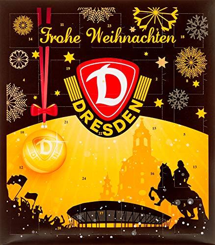 Gimmick Riegelein Fu/ßball Adventskalender RB Leipzig mit 25 Schokoladentalern 1 x 200 g 1er Pack