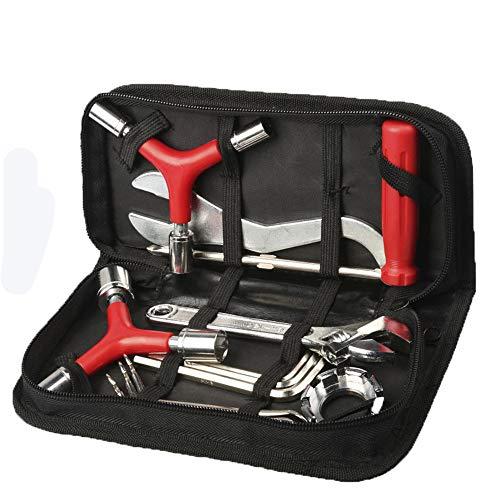 WG Fiets Tool Kit, Mountainbike Racefiets Multi-Tool Kit Combinatie Kit Reparatie Moersleutel, Schroevendraaier, Bandlepel