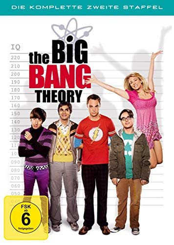 Cover The Big Bang Theory - Die komplette zweite Staffel (4 DVDs)