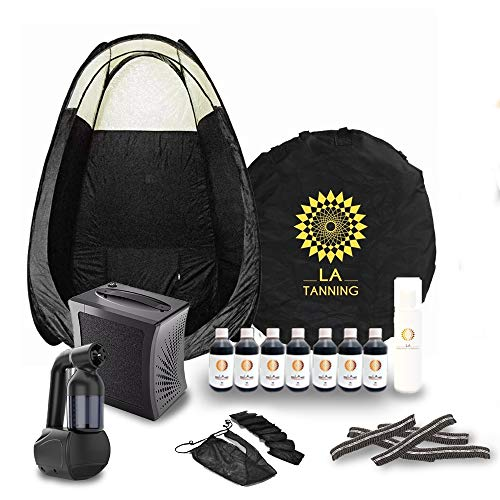 Spray Tanning Home Kit, Machine, Tent, Extractor +MORE! WORTH £300.00