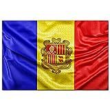 Andorra Flag of Andorra Puzzle 1000 Piezas para Adultos Familia Rompecabezas Recuerdo Turismo Regalo