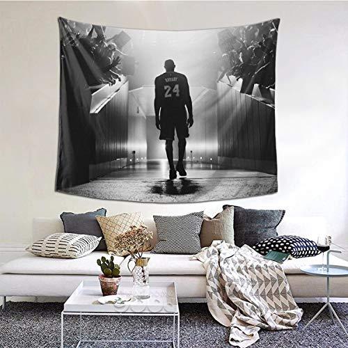 Ko-be Bry-ant Tapisserie, bunt, Kunst, Wandbehang, Poster für Schlafzimmer, Wohnzimmer und Wohnheim, Dekoration, 152,4 x 101,6 cm
