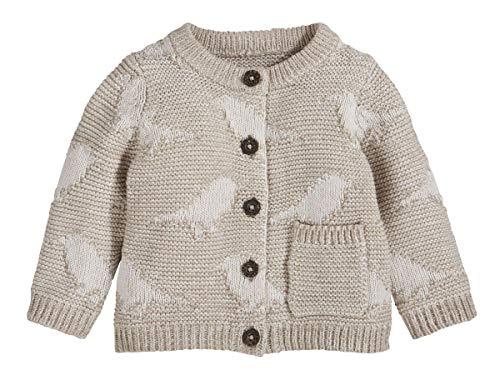 lupilu Baby Strickjacke 100% Baumwolle - Organic Beige 86/92