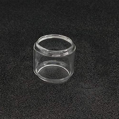 Qingtian-ceg Tubo de Vidrio Puro Pyrex/Vape Glass for TFV-8 Big Baby Beast Atomizer Incluyendo Estilo Recto o Gordo,Sin Tabaco ni nicotina (Color : For TFV8BigBaby Fat)