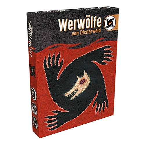 Asmodee Werwölfe von Düsterwald (Auflage 2019), Grundspiel, Partyspiel, Deutsch