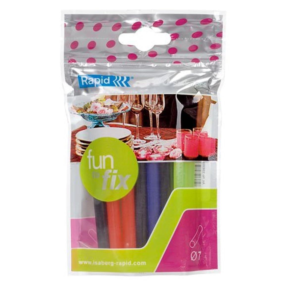 Rapid RP23835900   Coloured Glue Sticks   7mm?  20 Sticks
