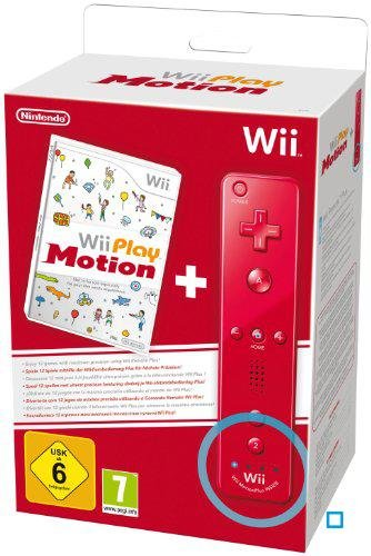 Wii Play: Motion Plus Wii Remote - Red [Edizione: Regno Unito]