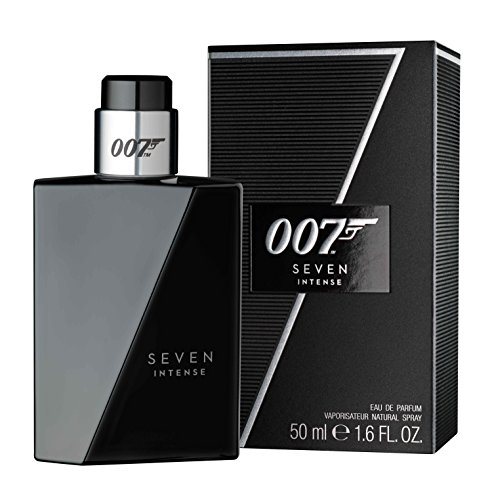 James Bond 007 Seven Intense for Men – Eau de Parfum Herren Natural Spray – Maskulines, elegantes Herren Parfum für jede Gelegenheit – 1er Pack (1 x 50ml)