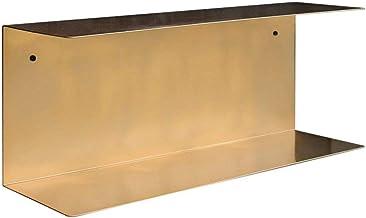 Strong Carrying Capacity 2 Tier Wrought Iron Bathroom Shelf, Living Room Bedroom Wall Hanging Shelf, Bathroom Toiletries S...