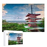 浅草寺ジグソー世界的に有名な大人の子供と高齢者のための風景パズル120/300/500/1000パズル(Size:120PCS)