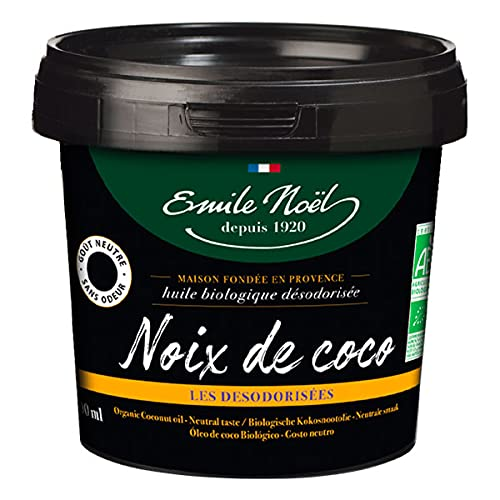 EMILE NOEL - Huile De Coco Désodorisée 50Cl - Lot De 2