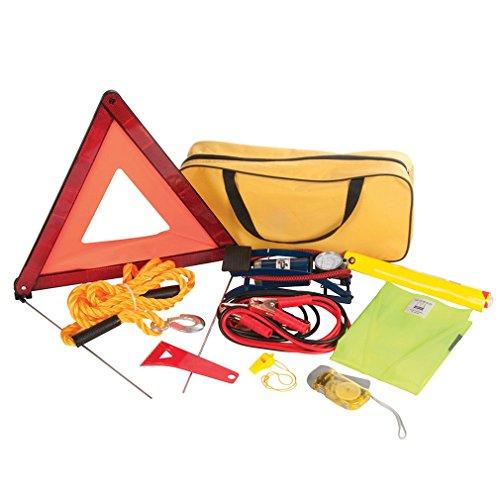 Silverline 933429 Car Emergency Kit - Set of 9