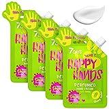 Crème Mains 4 pièces Pêche Formule Water Drop Hydratation Profonde Régénération Nourriture Protection Absorption Rapide Texture Légére 4x25ml | 7DAYS