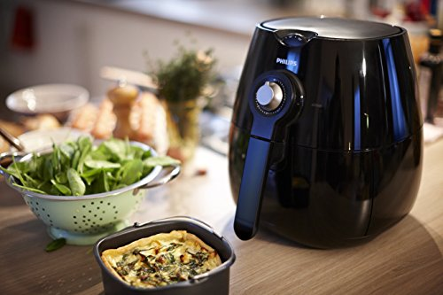 Philips HD9220/20 Airfryer Noir - Faites Cuire, Frire, Rôtir, Griller tous vos Aliments