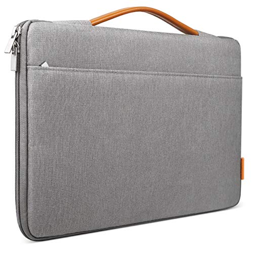 Inateck 14-14.1 Inch Laptop Sleeve Protective Bag Netbook Carrying Case Compatible with 14 ThinkPad, 15'' MacBook Pro 2019/2018/2017/2016, Dell Inspiron, HP Chromebook 14, ASUS and More, Dark Gray