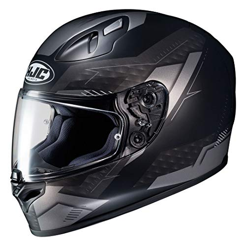 HJC Helmets Casco de moto FG-17 TALOS BLACK/GREY S