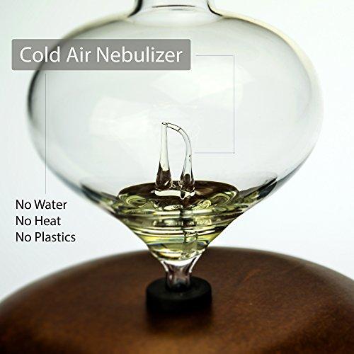 Aromis Wood And Glass Nebulizer