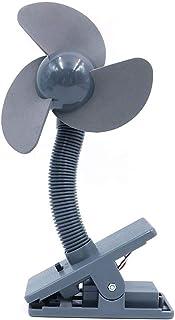 Shiwaki Clip on Fan with Soft Foam Blades - Gray
