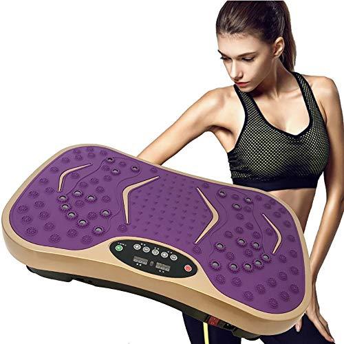 Fitnessplatte Power Vibration Plate Fitness Vibrationsmaschine Mit Fernbedienung Büro Und Fitnessstudio,C