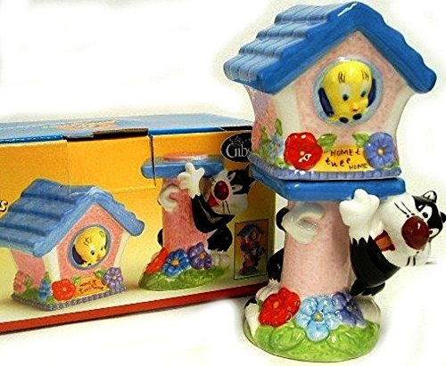 Looney Tunes TWEETY Home Tweet Home Salt & Pepper Set