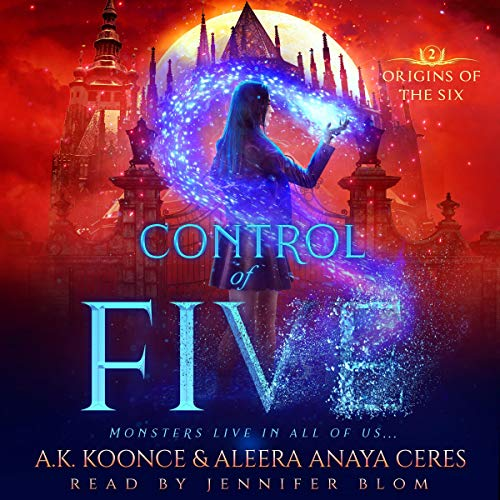 Control of Five (A Reverse Harem Series) audiobook cover art